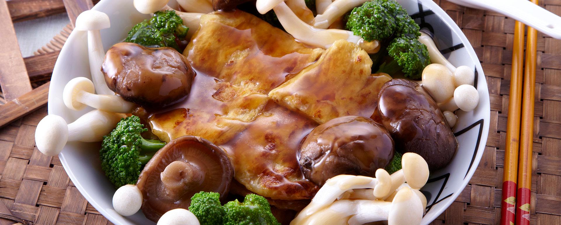 mushroom-vege
