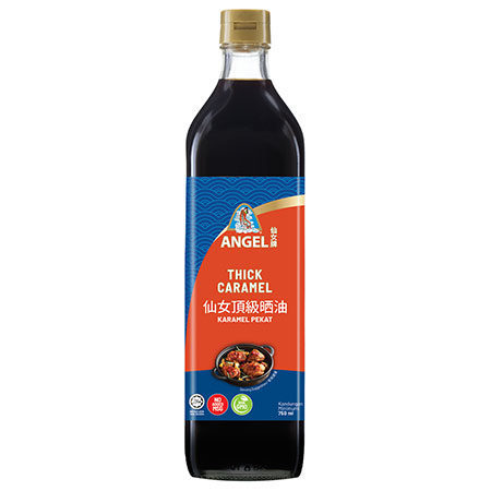 angel thick caramel 750